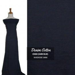 kain pasang denim cotton