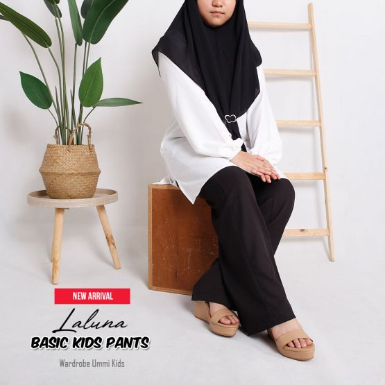 Basic Kids Pants Laluna